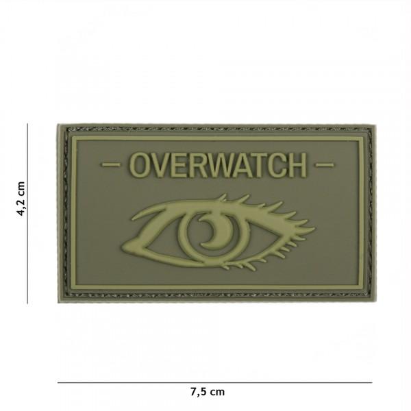 Patch 3D PVC Overwatch green