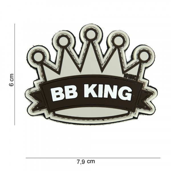 Patch BB King beige