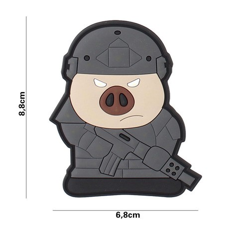 PATCH 3D PVC TACTICAL PIG
