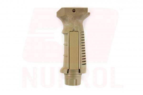 Nuprol Pressure Pad Vertical Grip - Tan