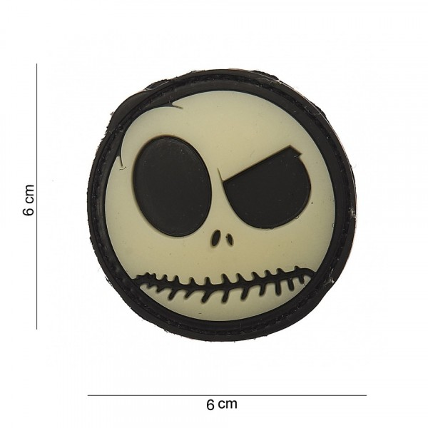 Patch 3D PVC big nightmare smiley