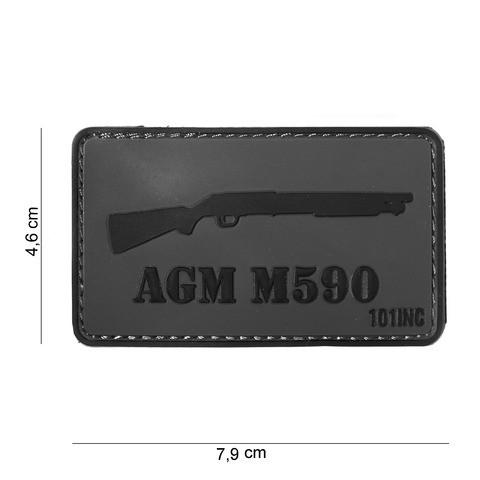 Patch 3D PVC AGM M590