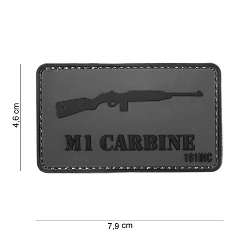 Patch 3D PVC M1 CARBINE