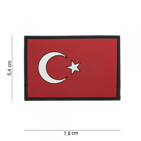 Patch 3D PVC Turkey