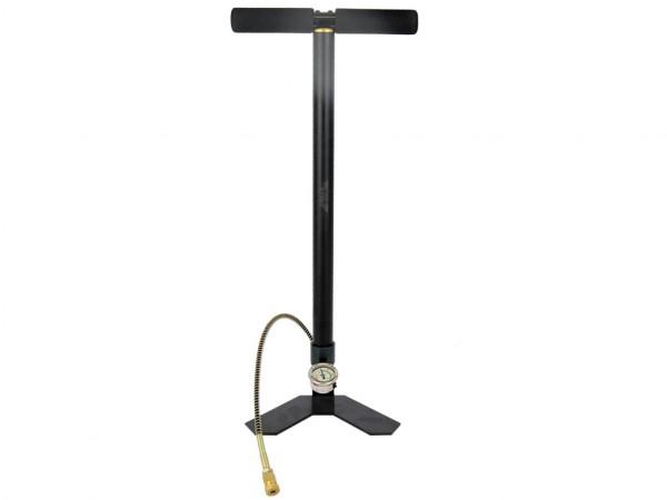 Pressluft Handpumpe mit Schlauch und Schnellfülladapter