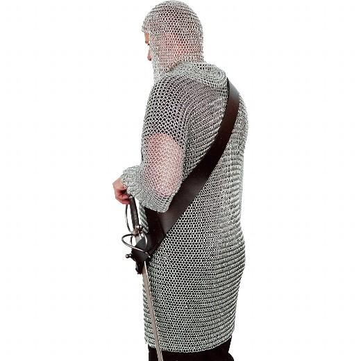Schultergurt für Schwerter aus Leder.