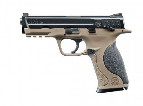 Smith & Wesson M&P40 TS cal. 4,5 mm (.177) BB - FDE
