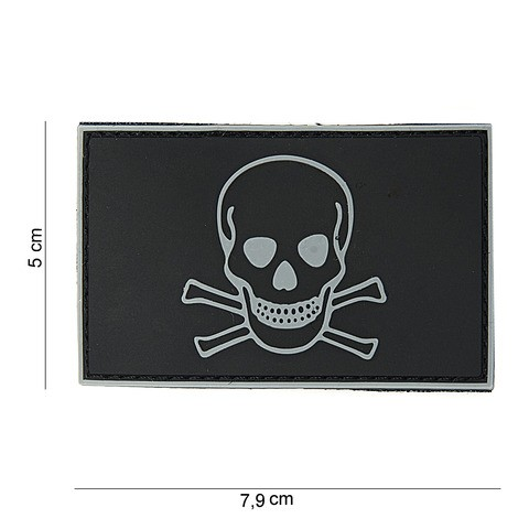 Patch PVC Skull and Bones