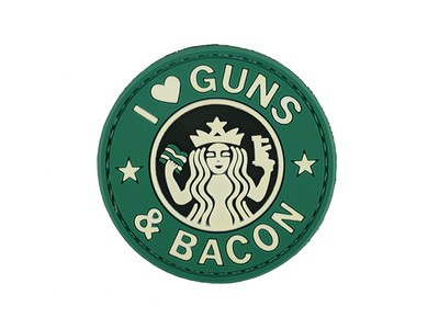 i Love Guns & Bacon Patch
