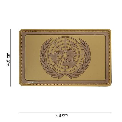 Patch 3D PVC UN Brown