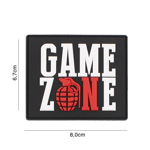 PATCH 3D PVC GAME ZONE