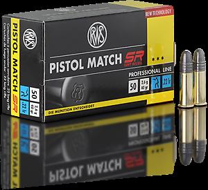 RWS .22l.r. Pistol Match SR