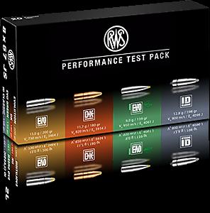 RWS Performance Test Pack im Kaliber 8x57 JS