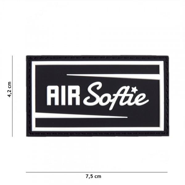 Patch 3D PVC Air Softie black