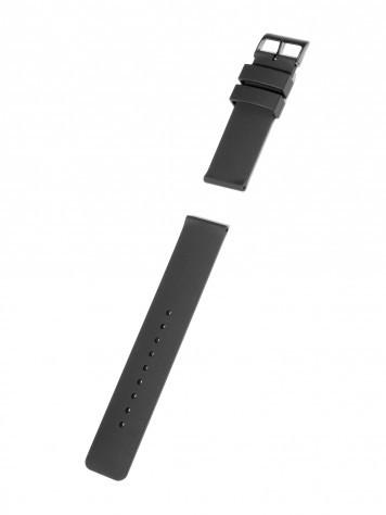 Silikonband schwarz