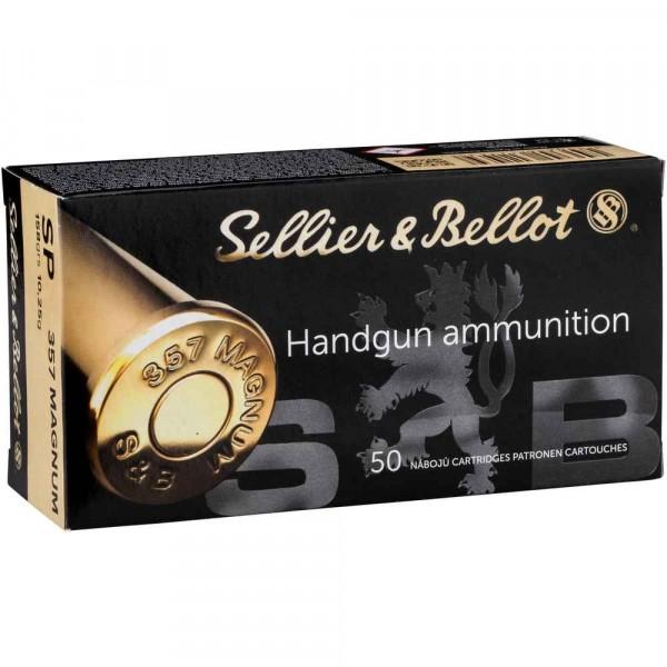 S&B .357 Magnum Teilmantel 158 grss