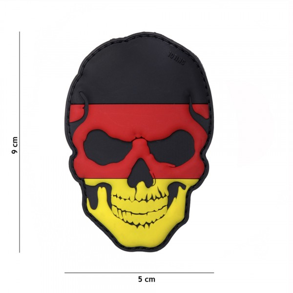 Patch 3D PVC skull Germany