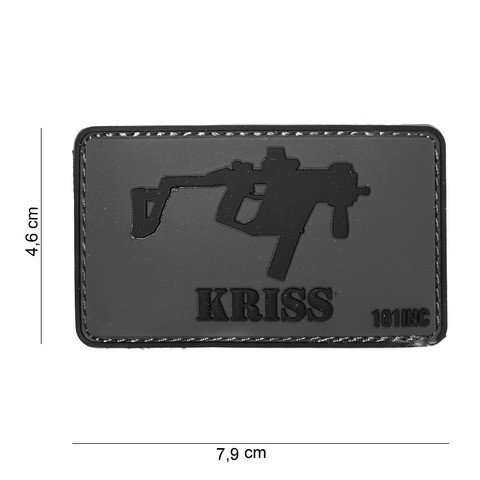 Patch 3D PVC Kriss