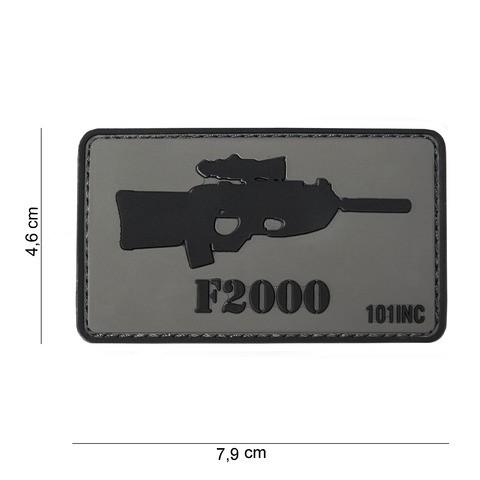 Patch 3D PVC F2000