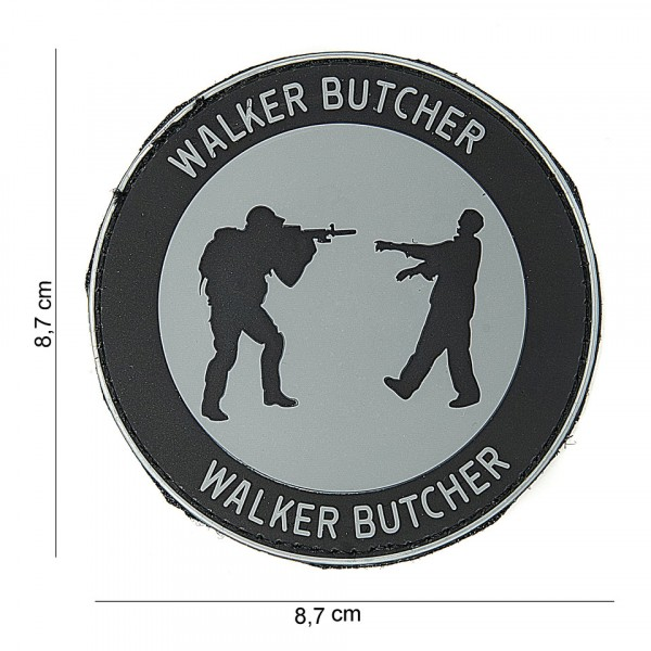 Patch 3D PVC Walker butcher