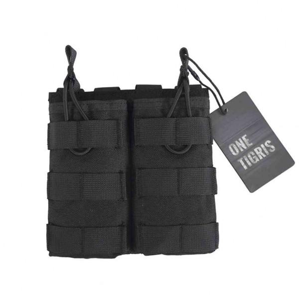 OneTigris double Mag Pouch für M4 schwarz