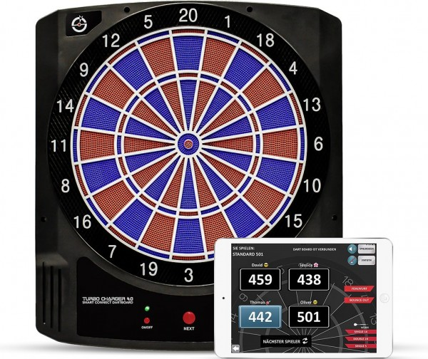 Smart Connect Dartboard TURBO CHARGER 4.0
