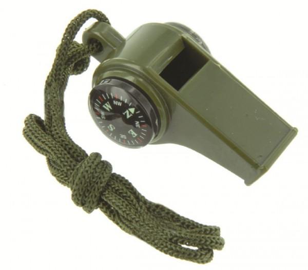Trillerpfeife Ranger Kunststoff