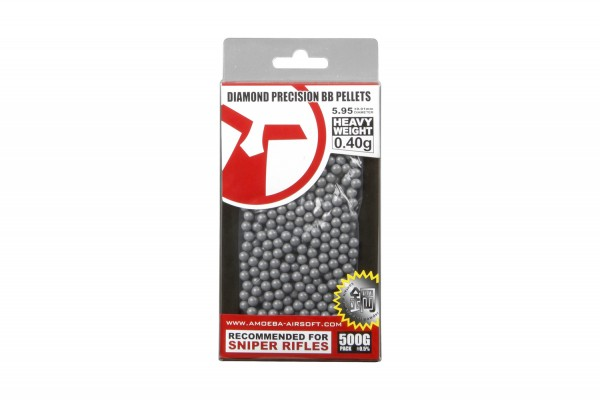 Ares Amoeba BBs 6mm 0,50g 1000 St. Grey