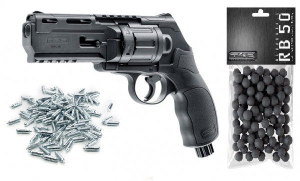 Defense-Set T4E HDR50 T4E cal. 50 CO2 Ram-Revolver 7,5 Joule