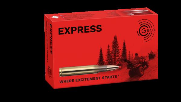 Geco .30-06 Express 10,7 g/ 165 gr Büchsenpatronen