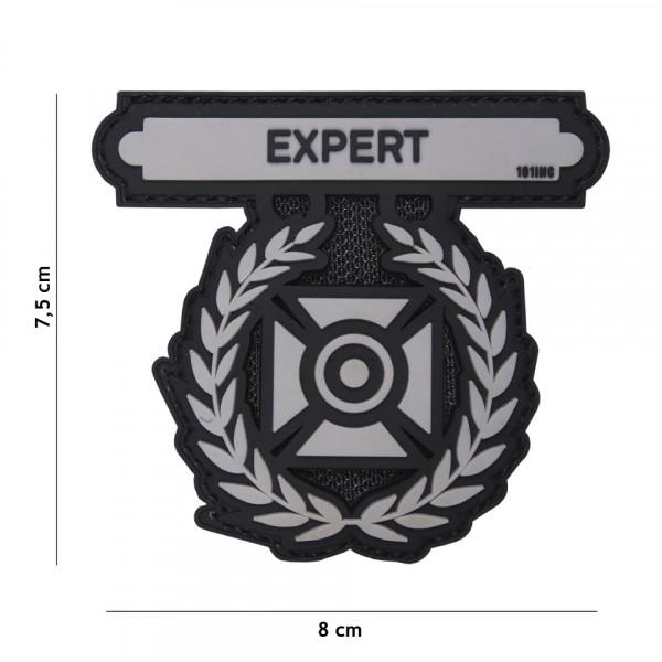 Patch 3D PVC Expert grey