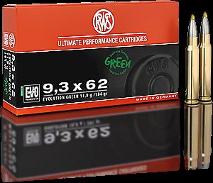RWS 9,3x62 Evolution Green 11,9g