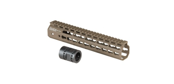 Ares 233mm M-LOK Handguard Set Dark Earth