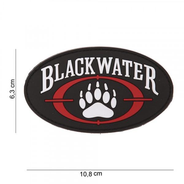 Patch 3D PVC Blackwater