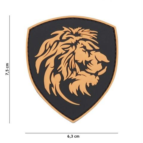 Patch 3D PVC Dutch Lion
