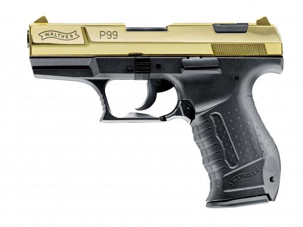 Walther P99 24 Karat Gold Jubiläums-Edition