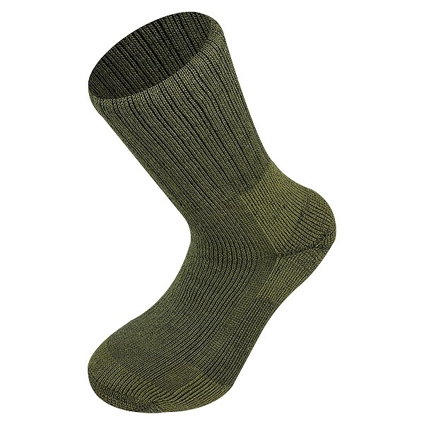 Norwegische Armeesocken Oliv Medium