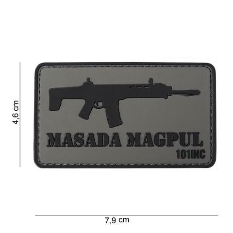 Patch 3D PVC Masada Magpull