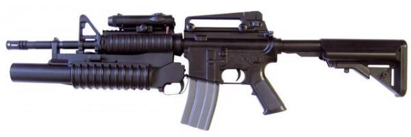 M4 Tactical m. Grenade Launcher