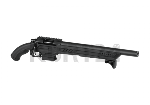 Action Army AAC T11 Short Bolt Action Sniper Rifle schwarz
