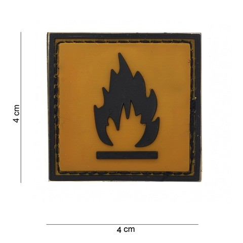 Patch PVC Flammable
