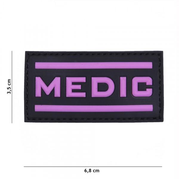 Patch 3D PVC Medic pink