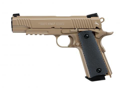 Colt M45 CQBP FDE cal. 4,5 mm (.177) BB