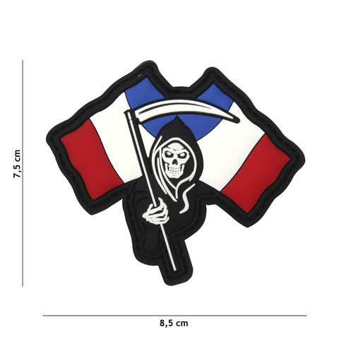 Patch 3D PVC French Reaper