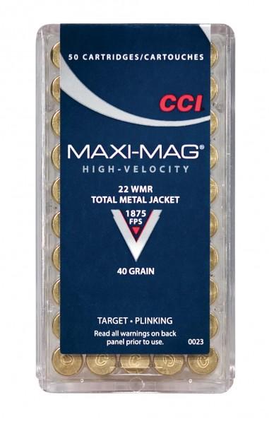 CCI .22 WMR Maxi Mag 40gr