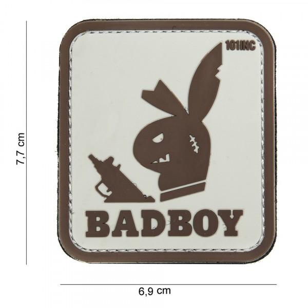 Patch 3D PVC Badboy sand