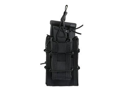 Versatile combo-magazine pouch - Black