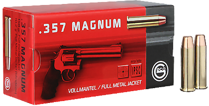 GECO .357 Magnum Vollmantel-Flachkopf 10,2 g