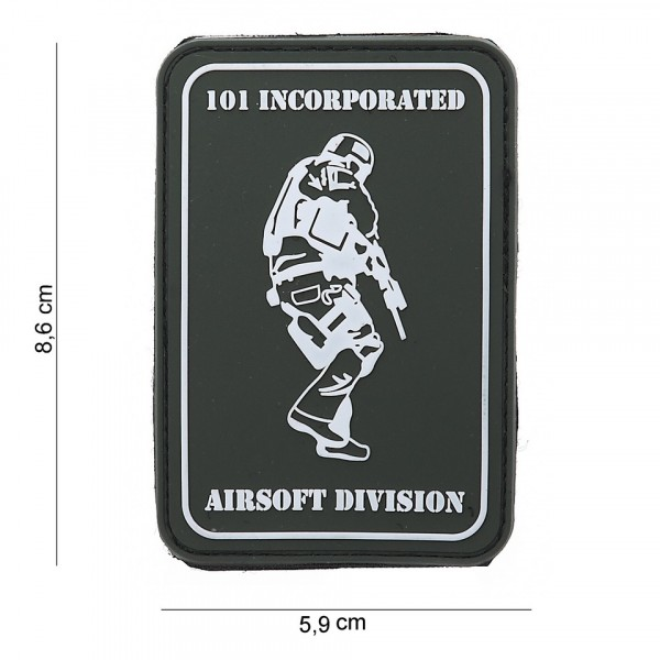 Patch PVC 101 INC Airsoft Division