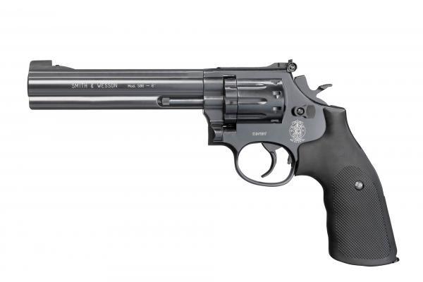 """Smith & Wesson Mod. 686-6"""" cal. 4,5 mm (.177) Diabolo - Graphite Black"""